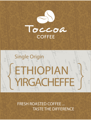Toccoa Coffee Granger Indiana Fresh Roasted Ethiopian Yirgacheffe