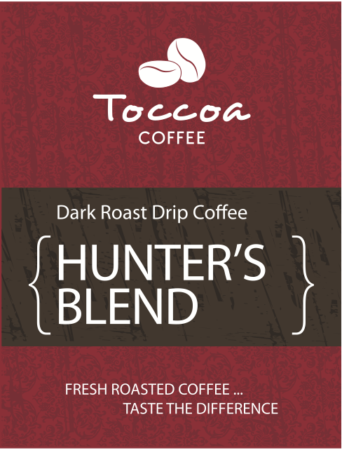 Toccoa Coffee Granger Indiana Fresh Roasted Hunter's Blend